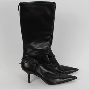 Gucci Pointed Toe Heeled Boots